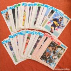 Coleccionismo deportivo: LOTE DE 234 POSTALES CROMOS FICHAS ONZE MONDIAL (FRANCIA) DE JUGADORES Y SELECCIONES. Lote 195277870