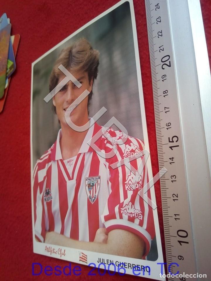 TUBAL ATHLETIC BILBAO HABITACION POSTERS FOTOGRAFIA KONICA B49 (Coleccionismo Deportivo - Postales de Deportes - Fútbol)