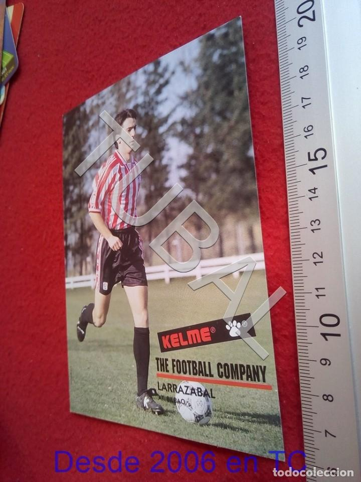 TUBAL ATHLETIC BILBAO LARRAZABAL POSTAL KELME B49 (Coleccionismo Deportivo - Postales de Deportes - Fútbol)