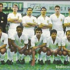 Coleccionismo deportivo: POSTAL * VALENCIA CLUB DE FUTBOL * 1966. Lote 195330253
