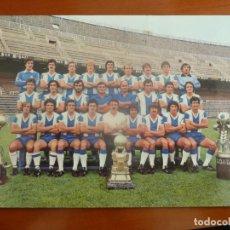 Coleccionismo deportivo: REAL CLUB DEPORTIVO ESPAÑOL POSTAL ORIGINAL PLANTILLA TEMPORADA 1978 79 MUY BUEN ESTADO. Lote 195388528