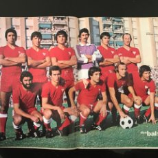 Coleccionismo deportivo: FÚTBOL DON BALÓN - POSTER SEVILLA FÚTBOL CLUB TEMPORADA 78-79 - AS MARCA SPORT CROMOS. Lote 195616528