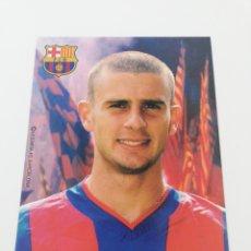 Coleccionismo deportivo: POSTAL THIAGO MOTTA FC BARCELONA 2002-2003 02-03 FUTBOL BARÇA. Lote 195856017