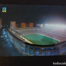 Coleccionismo deportivo: MADRID ESTADIO SANTIAGO BERNABEU VISTA NOCTURNA CAMPO DE FUTBOL. Lote 196035501