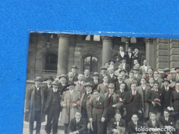 Coleccionismo deportivo: POSTAL ORIGINAL EQUIPO NACIONAL ESPAÑOL EN VIENA - RICARDO ZAMORA, JOSÉ SAMITIER - Foto 6 - 196188837