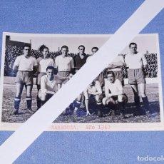 Coleccionismo deportivo: ANTIGUA FOTO POSTAL DE FUTBOL ZARAGOZA AÑO 1940 EN EXCELENTE ESTADO ORIGINAL. Lote 196786385