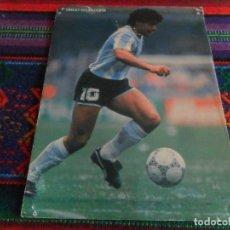 Coleccionismo deportivo: POSTAL DIEGO ARMANDO MARADONA SELECCIÓN ARGENTINA 1986. REGALO MCDONALDS. F.C. BARCELONA BARÇA. RARA. Lote 184322891