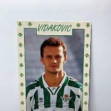 Coleccionismo deportivo: POSTAL VIDAKOVIC REAL BETIS. Lote 197261903