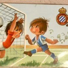 Coleccionismo deportivo: POSTAL RCD ESPAÑOL AÑOS 70. Lote 197671336