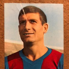 Coleccionismo deportivo: ELADIO (C.F. BARCELONA). POSTAL SIN CIRCULAR OSCARCOLOR N° 5 TEMPORADA 1966/67.. Lote 199045685