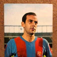 Coleccionismo deportivo: CHUS PEREDA (C.F. BARCELONA). POSTAL SIN CIRCULAR OSCARCOLOR N° 2 TEMPORADA 1968/69.. Lote 199047233