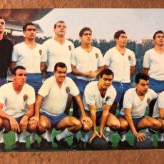 Coleccionismo deportivo: REAL ZARAGOZA. POSTAL SIN CIRCULAR OSCARCOLOR N° 17 TEMPORADA 1964/65.. Lote 199047808