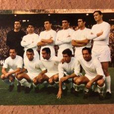 Coleccionismo deportivo: REAL MADRID. POSTAL SIN CIRCULAR OSCARCOLOR N° 114 TEMPORADA 1966/67.. Lote 199048487