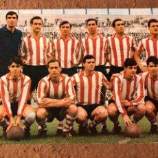 Coleccionismo deportivo: ATLÉTICO BILBAO (ATHLETIC CLUB). POSTAL SIN CIRCULAR BERGAS N° 51 (1967).. Lote 199050863