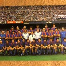 Coleccionismo deportivo: F.C. BARCELONA. POSTAL SIN CIRCULAR TEMPORADA 1982/83. MARADONA.. Lote 199052031