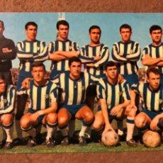 Coleccionismo deportivo: C.D. MÁLAGA. POSTAL SIN CIRCULAR BERGAS N° 125 (1967).. Lote 199052727