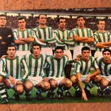 Coleccionismo deportivo: REAL BETIS. POSTAL SIN CIRCULAR BWRGAS N° 154, TEMPORADA 1967/68.. Lote 199053516