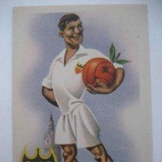 Coleccionismo deportivo: VALENCIA C.F. . ED. JUFRAN. POSTAL SIN CIRCULAR. Lote 199058778
