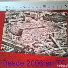 Coleccionismo deportivo: TUBAL ESTADIO BARÇA VISTA AEREA F C BARCELONA SOBERANAS B34. Lote 199066591