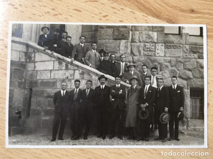 POSTAL SELECCION ESPAÑOLA DE FUTBOL EN BUDAPEST 5 OCTUBRE 1925 - RICARDO ZAMORA, JOSE SAMITIER (Coleccionismo Deportivo - Postales de Deportes - Fútbol)