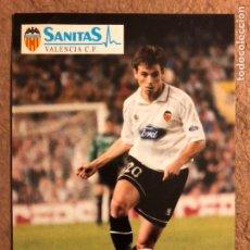 Coleccionismo deportivo: XABI ESKURZA (VALENCIA C.F.). POSTAL SIN CIRCULAR AÑOS 90.. Lote 200591837