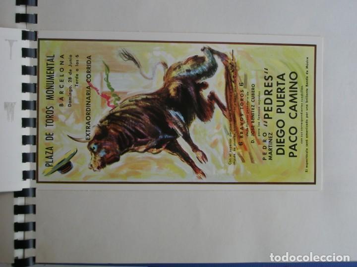 Coleccionismo deportivo: MUESTRARIO DE TARJETAS DE FUTBOL, TOROS ETC. DE LA CASA POSTAL OSCARCOLOR S.A. - Foto 25 - 202091047