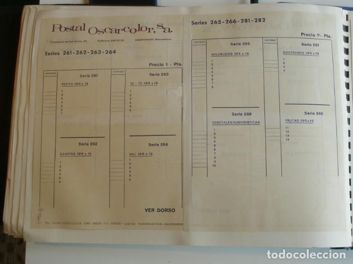 Coleccionismo deportivo: MUESTRARIO DE TARJETAS DE FUTBOL, TOROS ETC. DE LA CASA POSTAL OSCARCOLOR S.A. - Foto 33 - 202091047