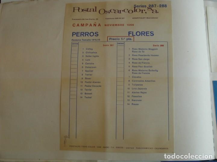 Coleccionismo deportivo: MUESTRARIO DE TARJETAS DE FUTBOL, TOROS ETC. DE LA CASA POSTAL OSCARCOLOR S.A. - Foto 36 - 202091047