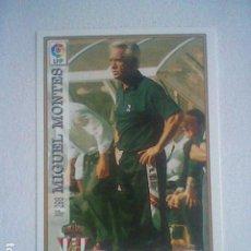 Collectionnisme sportif: MANUEL MONTES 298 SPORTING GIJON FUTBOL MC LIGA 97 98 1997 TRADING CARD FICHAS LIGA. Lote 204491815