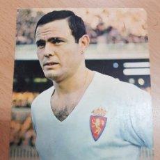 Coleccionismo deportivo: ANTIGUA POSTAL FUTBOL MARCELINO REAL ZARAGOZA FOTO SEGUI OSCARCOLOR. Lote 204802633