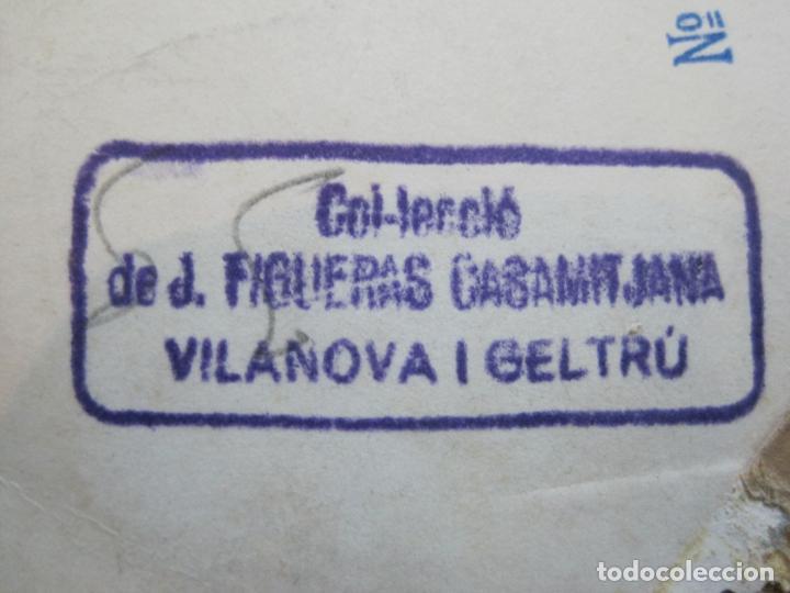 Coleccionismo deportivo: FC BARCELONA-CAMPEONES COPA DEL GENERALISIMO 1951-VILANOVA-POSTAL FOTOGRAFICA ANTIGUA-(70.333) - Foto 11 - 205049747