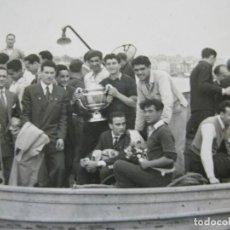 Coleccionismo deportivo: FC BARCELONA-CAMPEONES COPA DEL GENERALISIMO 1951-VILANOVA-POSTAL FOTOGRAFICA ANTIGUA-(70.333). Lote 205049747
