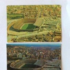 Coleccionismo deportivo: 3 POSTAL.ZERKOWITZ 2047, 1960.ZERKOWITZ 2047, 1962,CEDOSA 265, 1973.ESTADIO, CAMPO FÚTBOL. BARCELONA. Lote 205173383
