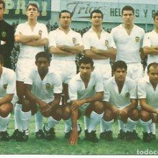 Coleccionismo deportivo: VALENCIA C.F. AÑO 1966 MUY BIEN CONSERVADA.SIN ESCRIBIR. Lote 205348513