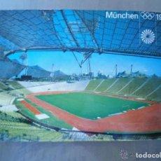Coleccionismo deportivo: ANTIGUA POSTAL MUNCHEN 1972 JUEGOS OLIMPICOS ESTADIO OLYMPIASTADION. Lote 205735788
