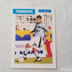 Coleccionismo deportivo: POSTAL STANKOVIC - LAZIO, INTER / SERBIA (FICHA ONZE MONDIAL). Lote 206216607