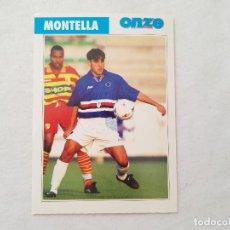 Coleccionismo deportivo: POSTAL MONTELLA - SAMPDORIA, ROMA / ITALIA (FICHA ONZE MONDIAL). Lote 206217222