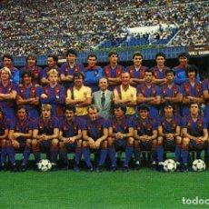 Coleccionismo deportivo: FC BARCELONA - PLANTILLA 1985-86. Lote 206322475
