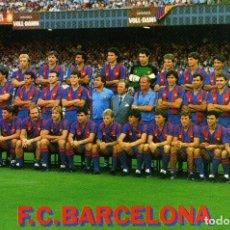 Coleccionismo deportivo: FC BARCELONA - PLANTILLA 1985-86. Lote 206322941