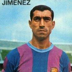 Coleccionismo deportivo: FC BARCELONA - JIMENEZ. Lote 206344353