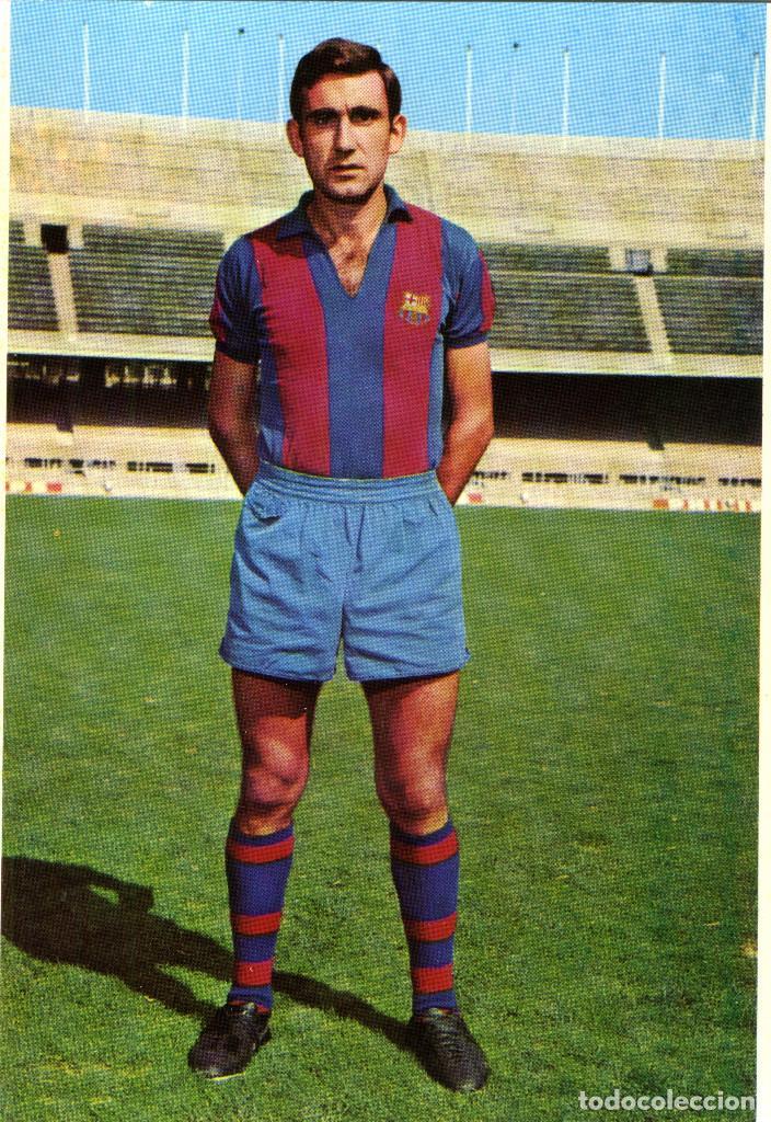 FC BARCELONA - ZABALZA (Coleccionismo Deportivo - Postales de Deportes - Fútbol)