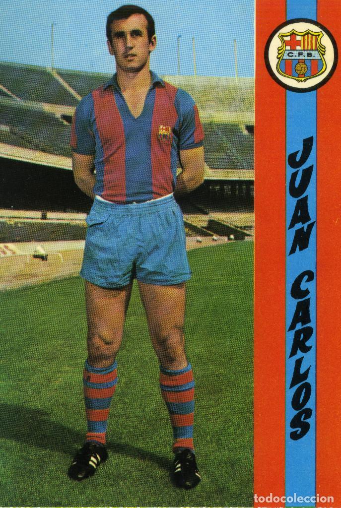 FC BARCELONA - JUAN CARLOS (Coleccionismo Deportivo - Postales de Deportes - Fútbol)