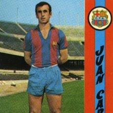 Coleccionismo deportivo: FC BARCELONA - JUAN CARLOS. Lote 206350366