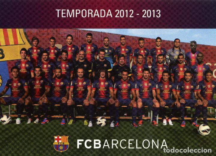 FC BARCELONA - TEMPORADA 2012-13 (23 POSTALES) (Coleccionismo Deportivo - Postales de Deportes - Fútbol)