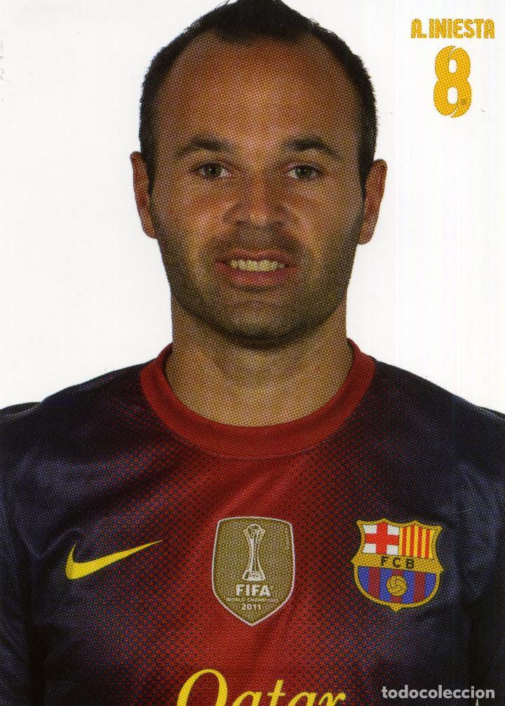 Coleccionismo deportivo: FC BARCELONA - TEMPORADA 2012-13 (23 POSTALES) - Foto 9 - 206361143