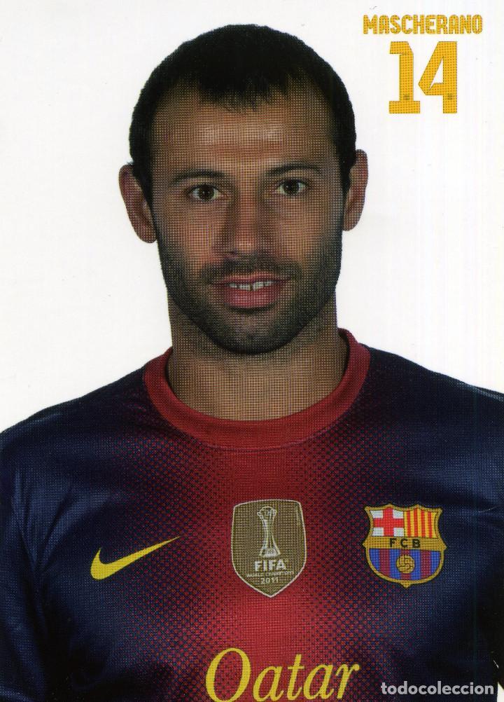 Coleccionismo deportivo: FC BARCELONA - TEMPORADA 2012-13 (23 POSTALES) - Foto 15 - 206361143