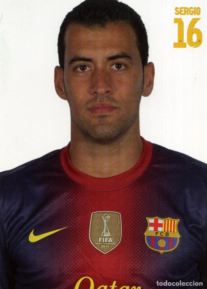 Coleccionismo deportivo: FC BARCELONA - TEMPORADA 2012-13 (23 POSTALES) - Foto 16 - 206361143