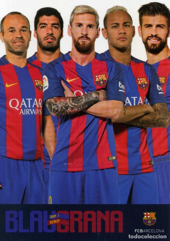 FC BARCELONA - TEMPORADA 2015-16 (23 POSTALES) (Coleccionismo Deportivo - Postales de Deportes - Fútbol)