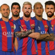 Coleccionismo deportivo: FC BARCELONA - TEMPORADA 2015-16 (23 POSTALES). Lote 206365987