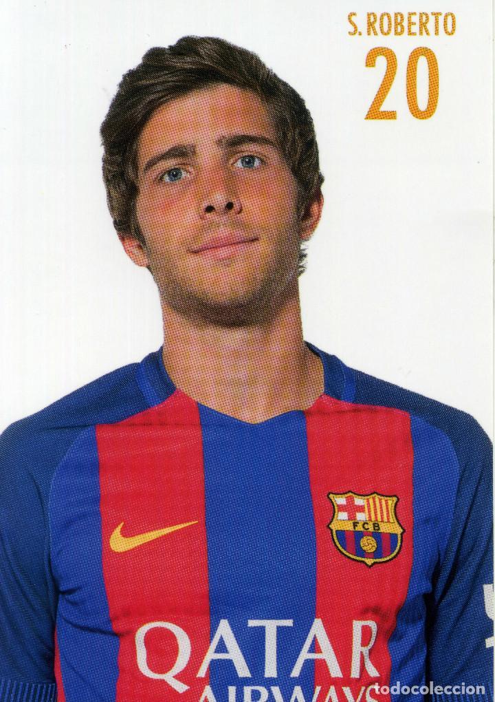 Coleccionismo deportivo: FC BARCELONA - TEMPORADA 2015-16 (23 POSTALES) - Foto 17 - 206365987